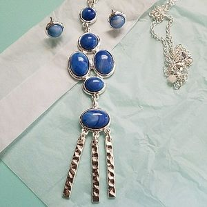 NWT Necklace & Earring Set